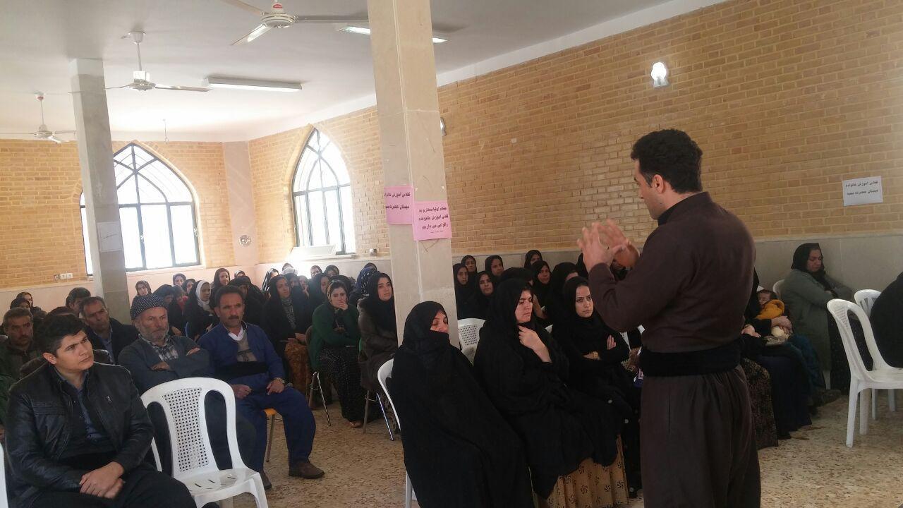 برگزاری دو کارگاه آموزشی ویژه اولیا و دانش آموزان در منطقه باینگان